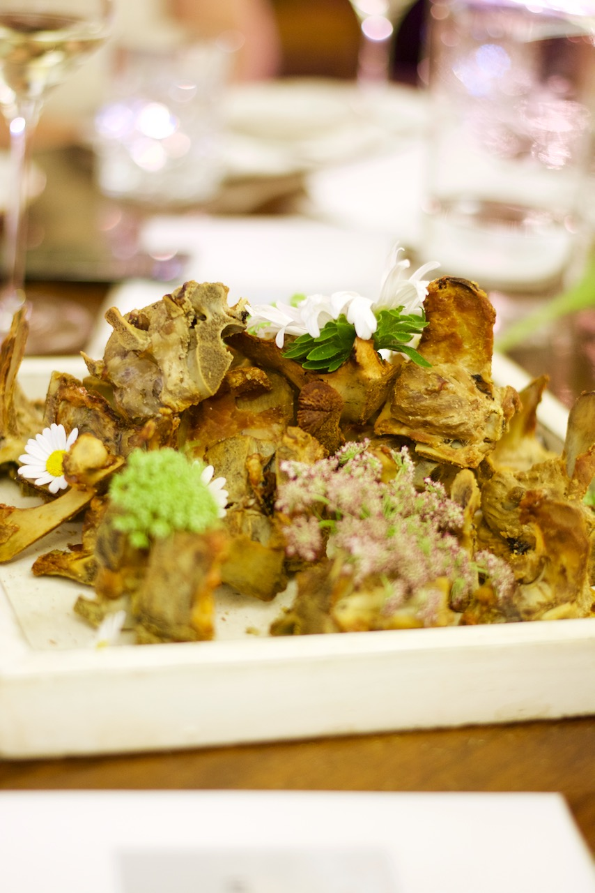 PopUp Restaurant Fleischkonsum Vincent Fricke. Foto © Harald Scholl