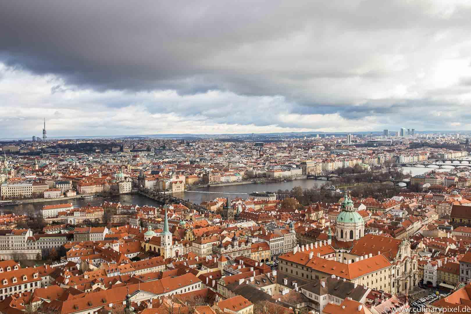 Prag: Blick vom Schlossturm