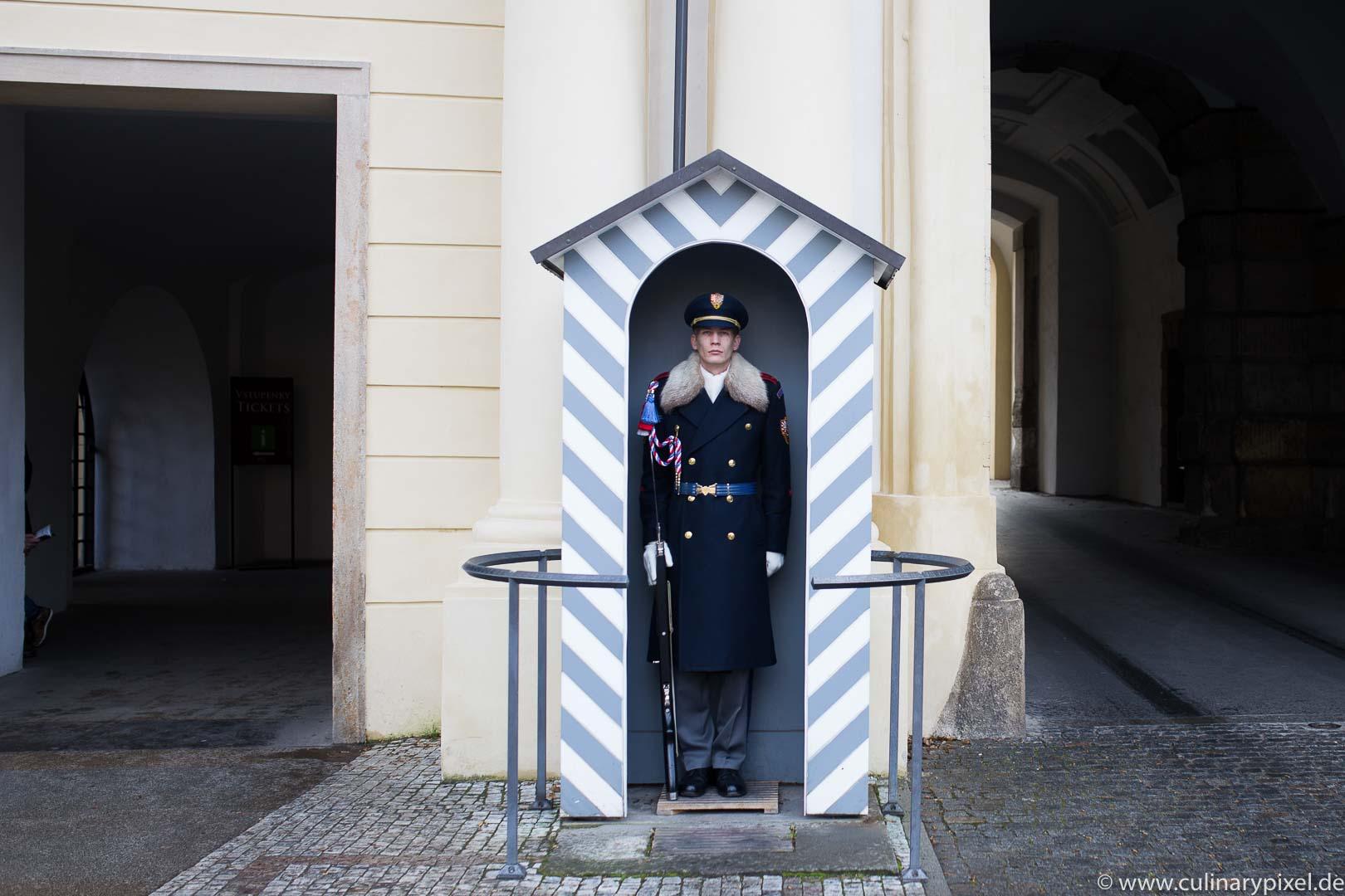 Prager Schloss Wache