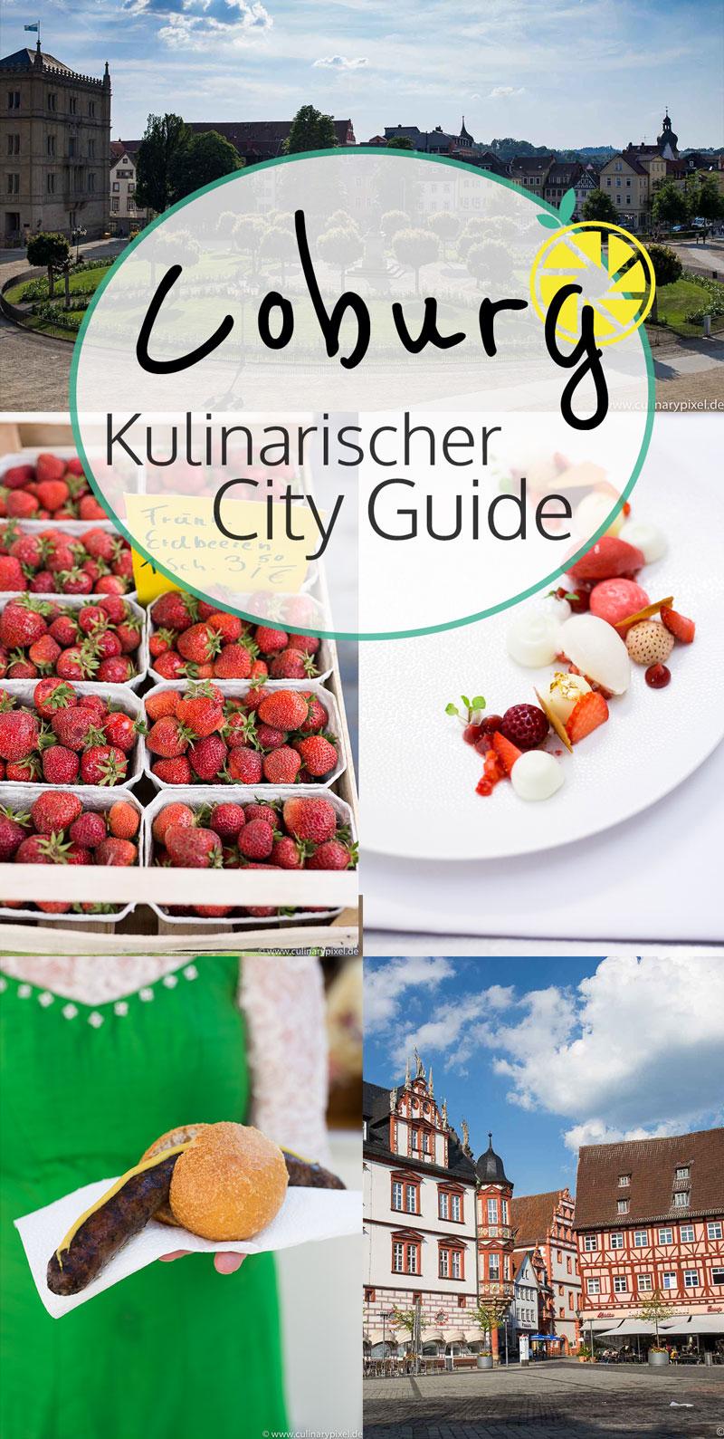 Coburg - Kulinarischer City Guide