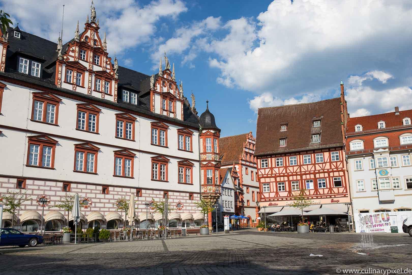Coburg Marktplatz - Kulinarischer City Guide Coburg