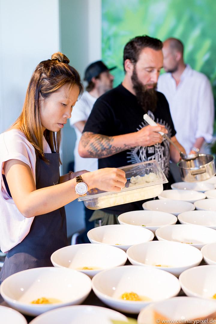 Schwertfisch Ceviche Sarah Henke Keltenhof Kreativ Workshop