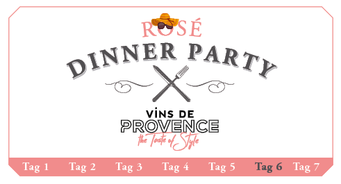 Rosé Dinner Party Picknick 2017