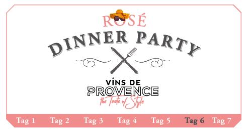 Rosé Dinner Party Picknick 2017