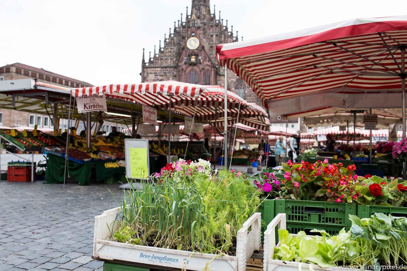 Markt Hauptmarkt Nürnberg