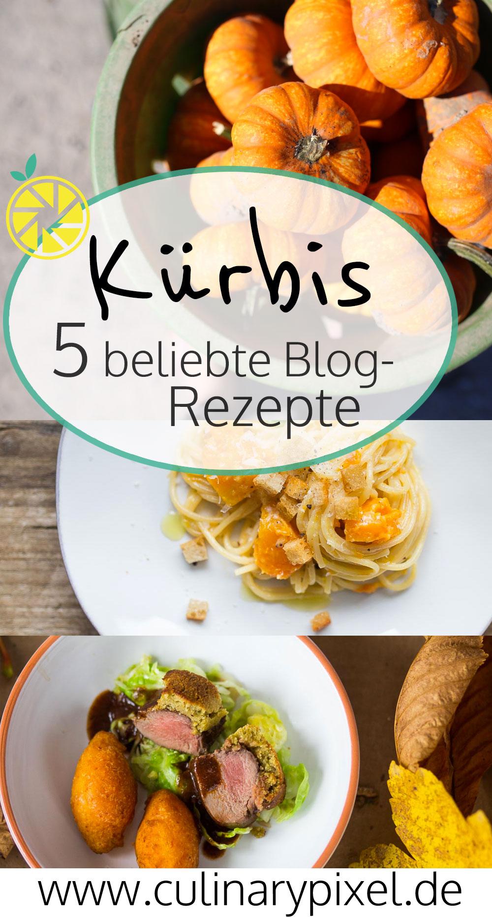 5 beliebte Kürbis Rezepte auf dem blog