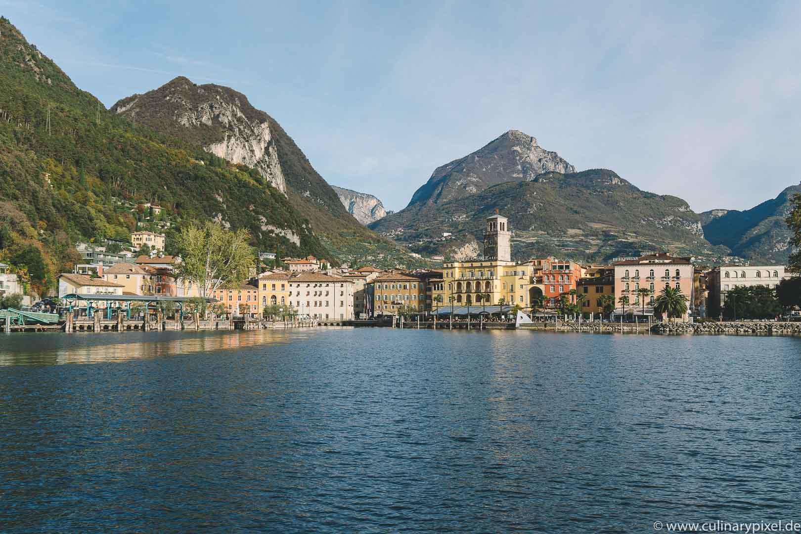 Riva del Garda am Gardasee im Herbst
