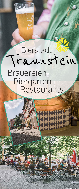 Bierstadt Traunstein: Brauereien, Bierführungen & Restaurants