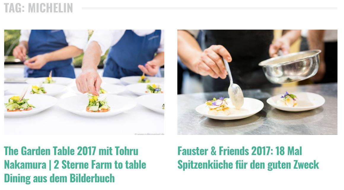 Michelin posts auf culinarypixel.de