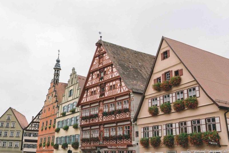 Dinkelsbühl kulinarischer City Guide: Restaurants, Hotels, Cafés und Aktivitäten