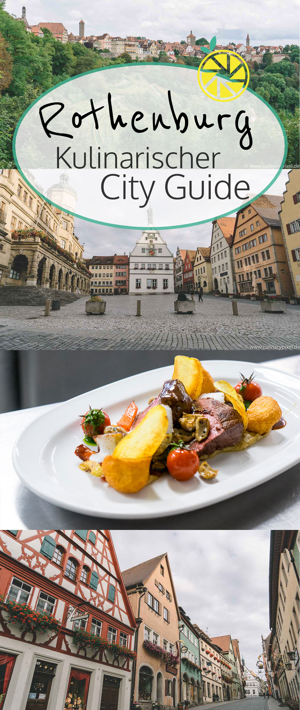 Rothenburg ob der Tauber City Guide mit Restaurants, Hotels, Cafés & Aktivitäten