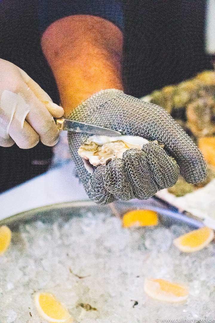 Küchenparty 2017 Schloss Fuschl: Austern
