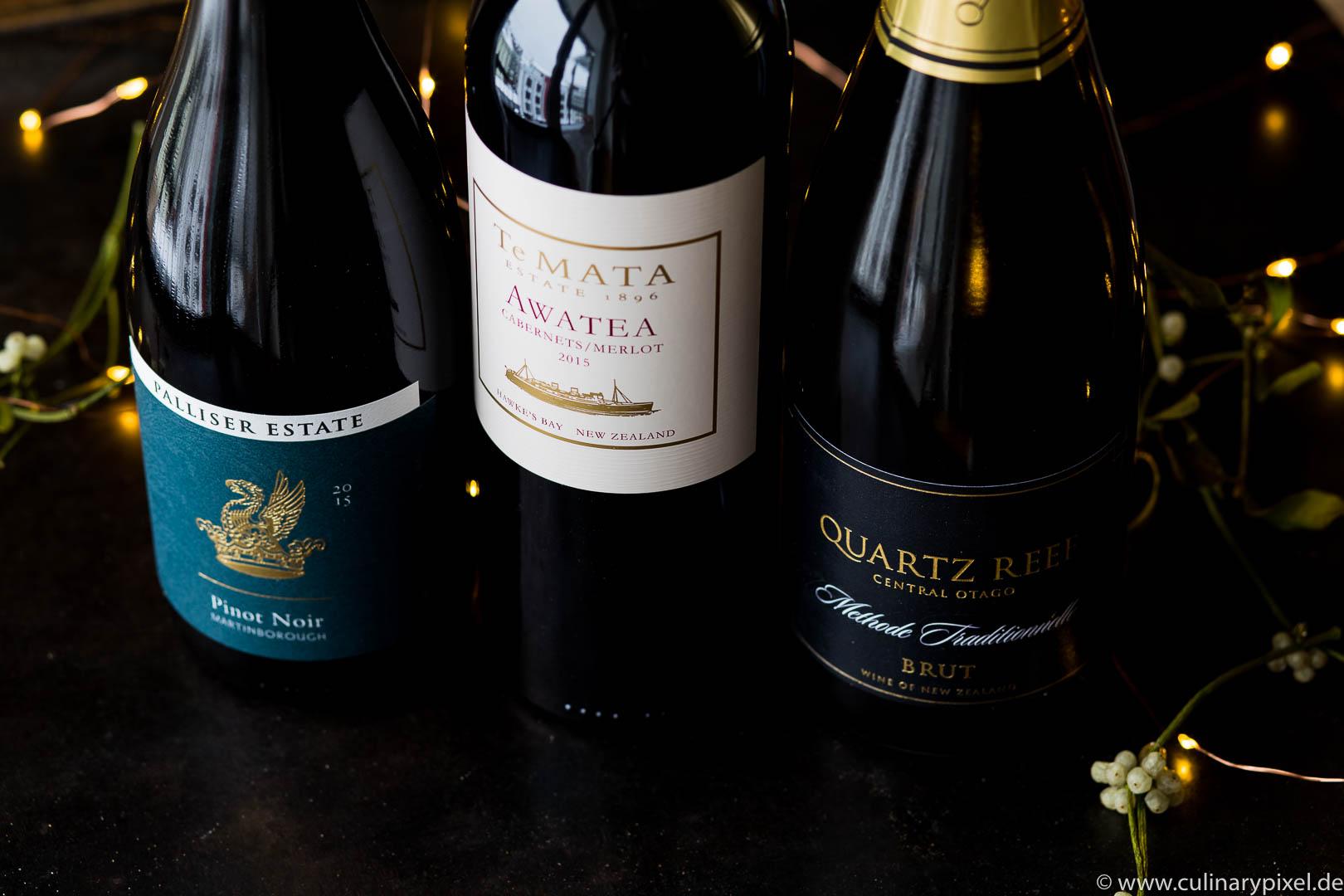 Weinpaket aus Neuseeland: Gewinnspiel zu Weihnachten