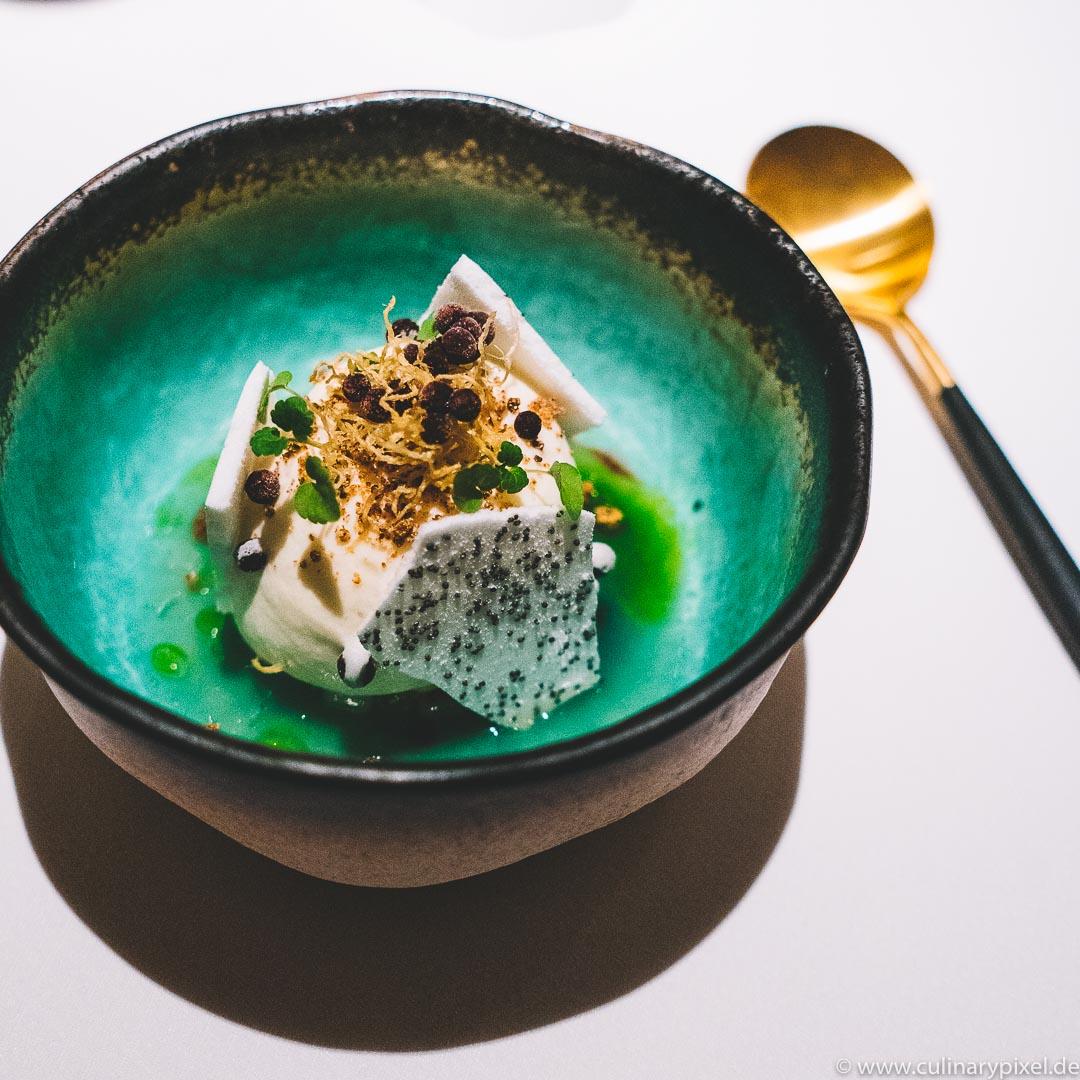 Tohru Nakamura, Geisels Werneckhof, Dessert Mollebusch Birne