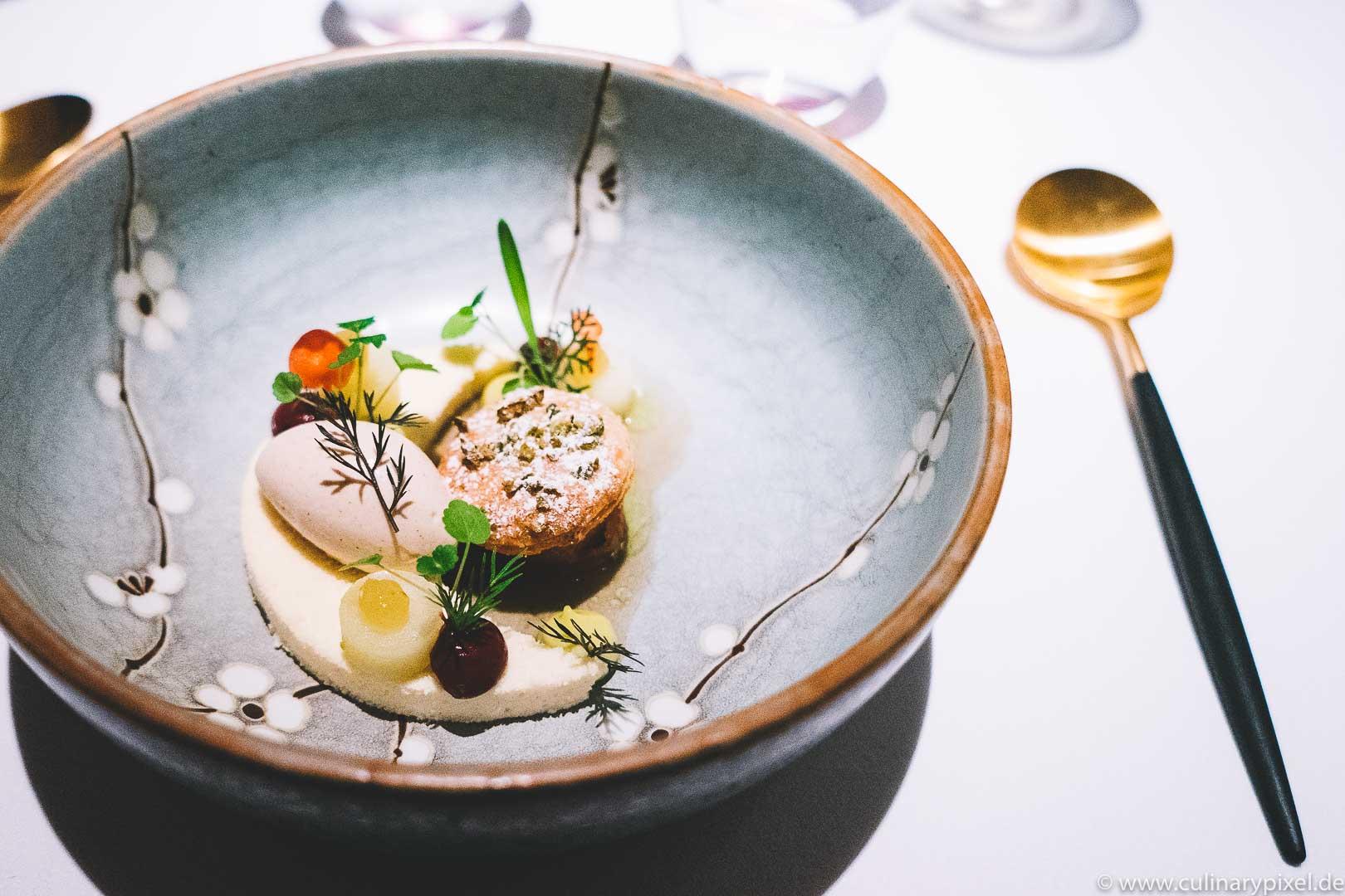 Tohru Nakamura, Geisels Werneckhof, Dessert Cox Orange