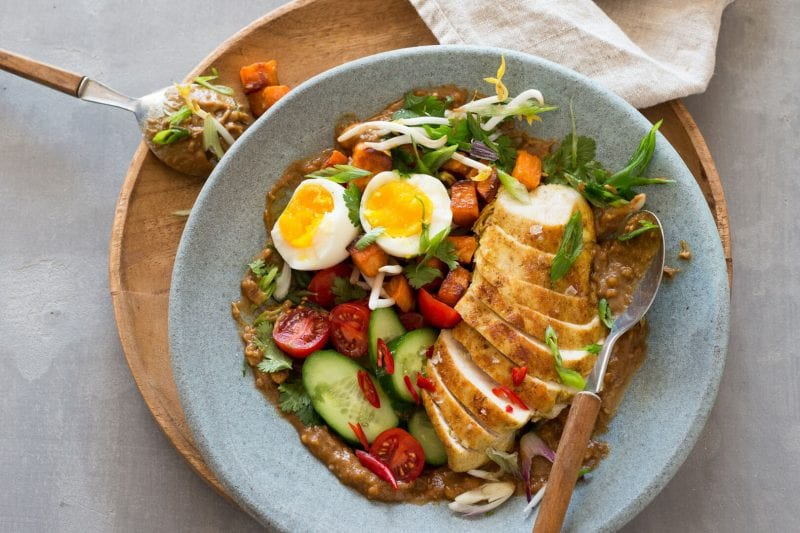 Gado Gado indonesischer Salat