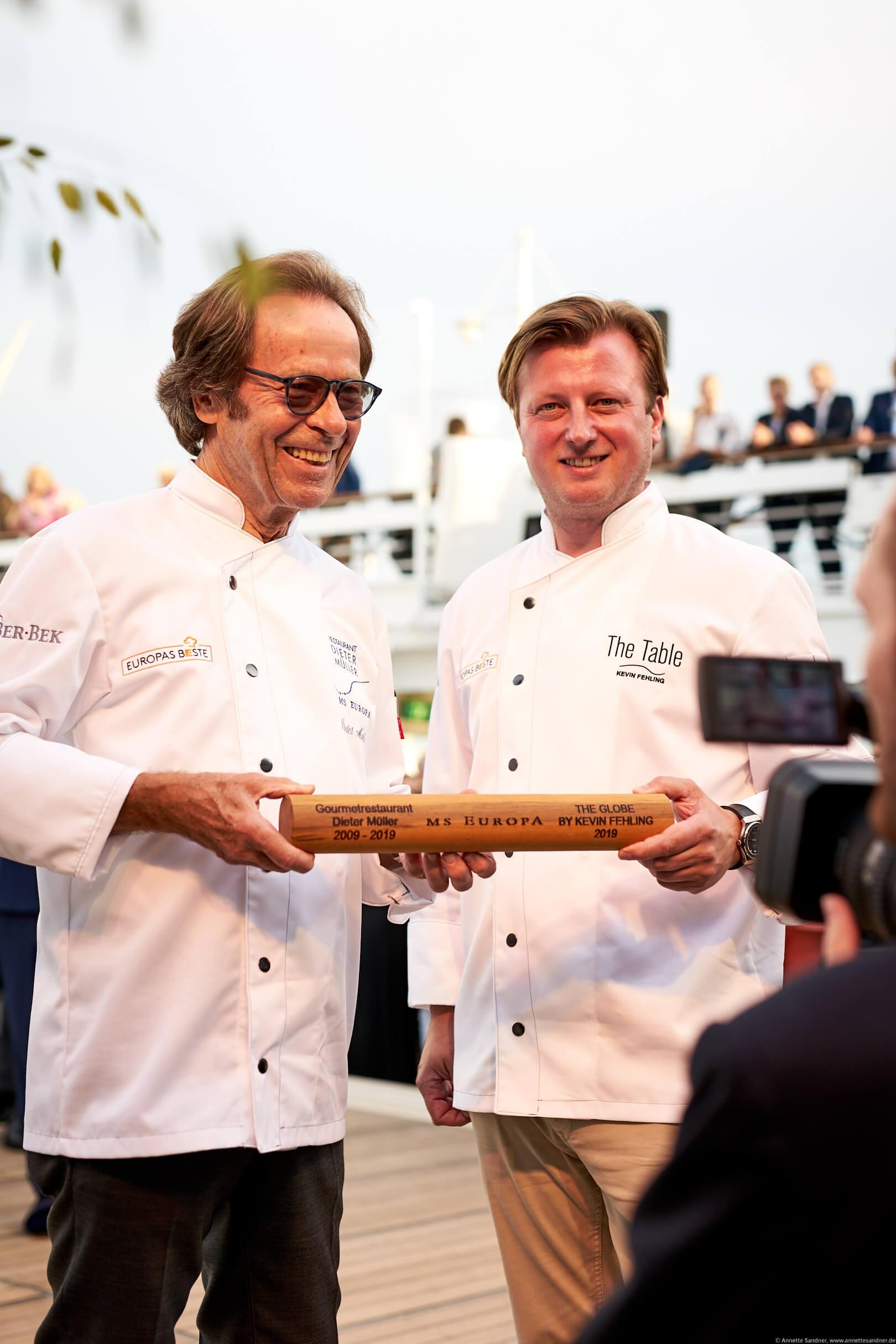 Dieter Müller und Kevin Fehling (v.l.)