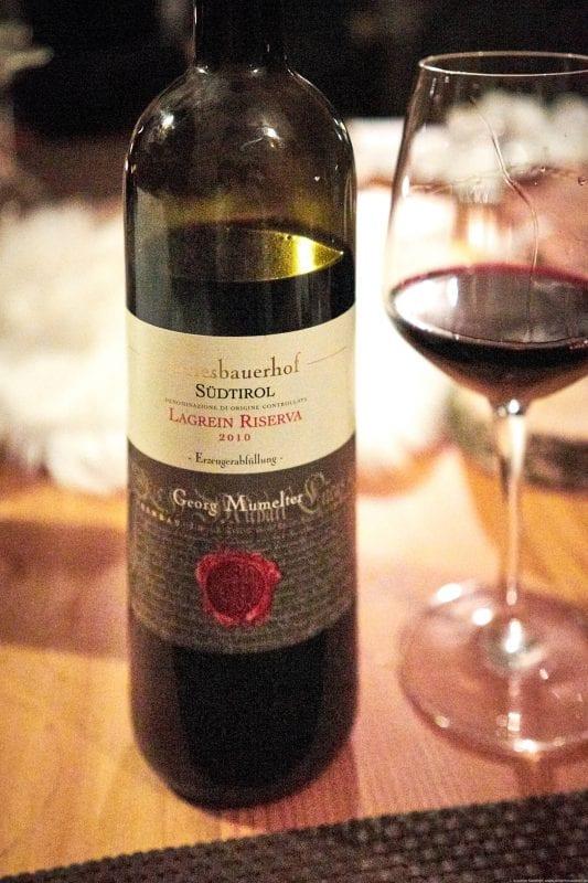 Wein im Hotel Mein Matillhof, Latsch, Vinschgau, Südtirol