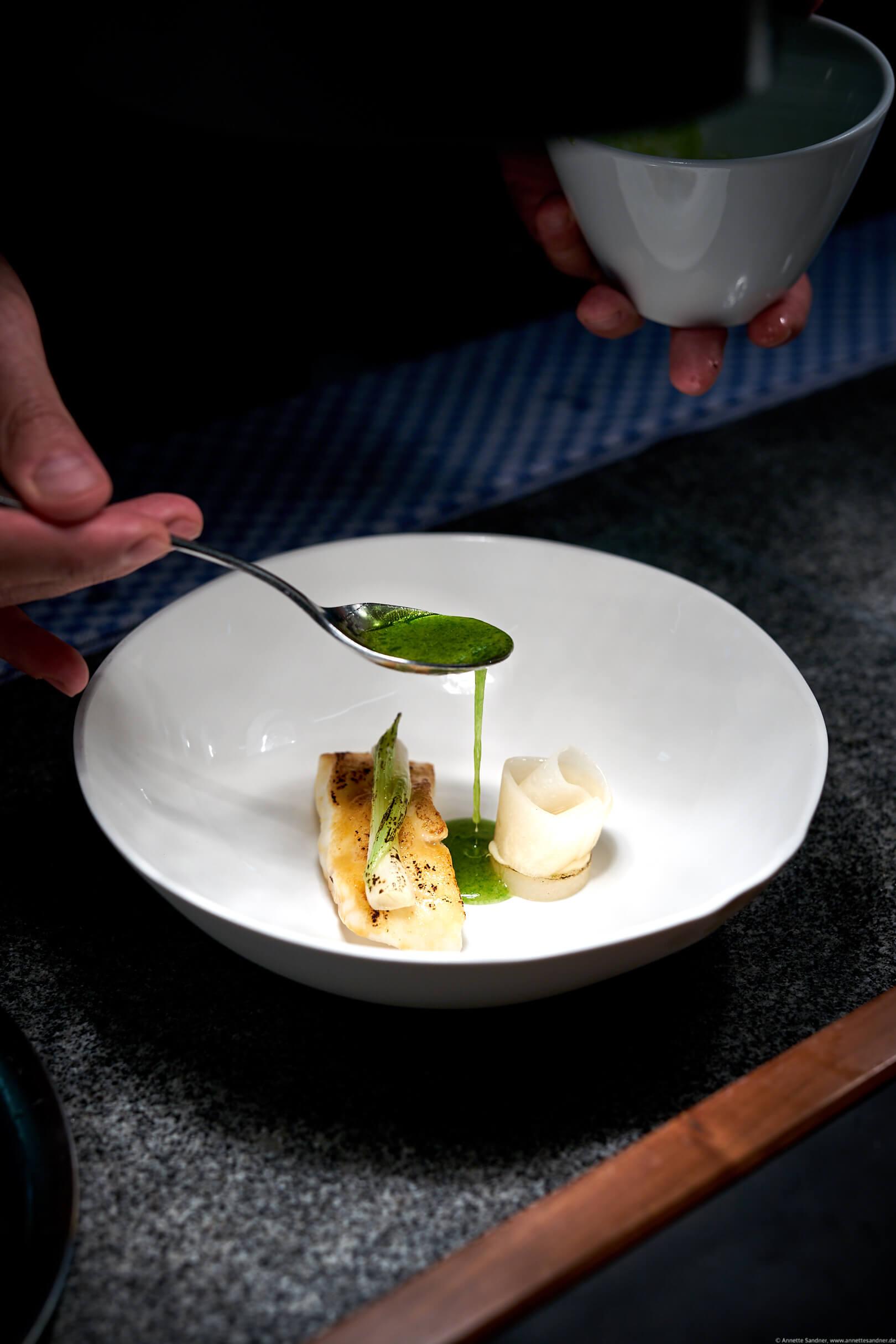 Restaurant Goldberg, Fellbach - Steinbutt