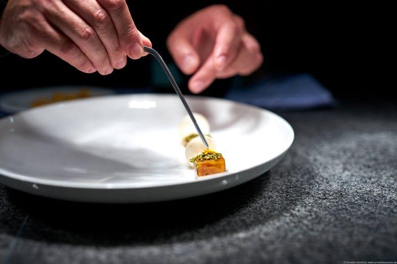 Restaurant Goldberg, Fellbach - Plating