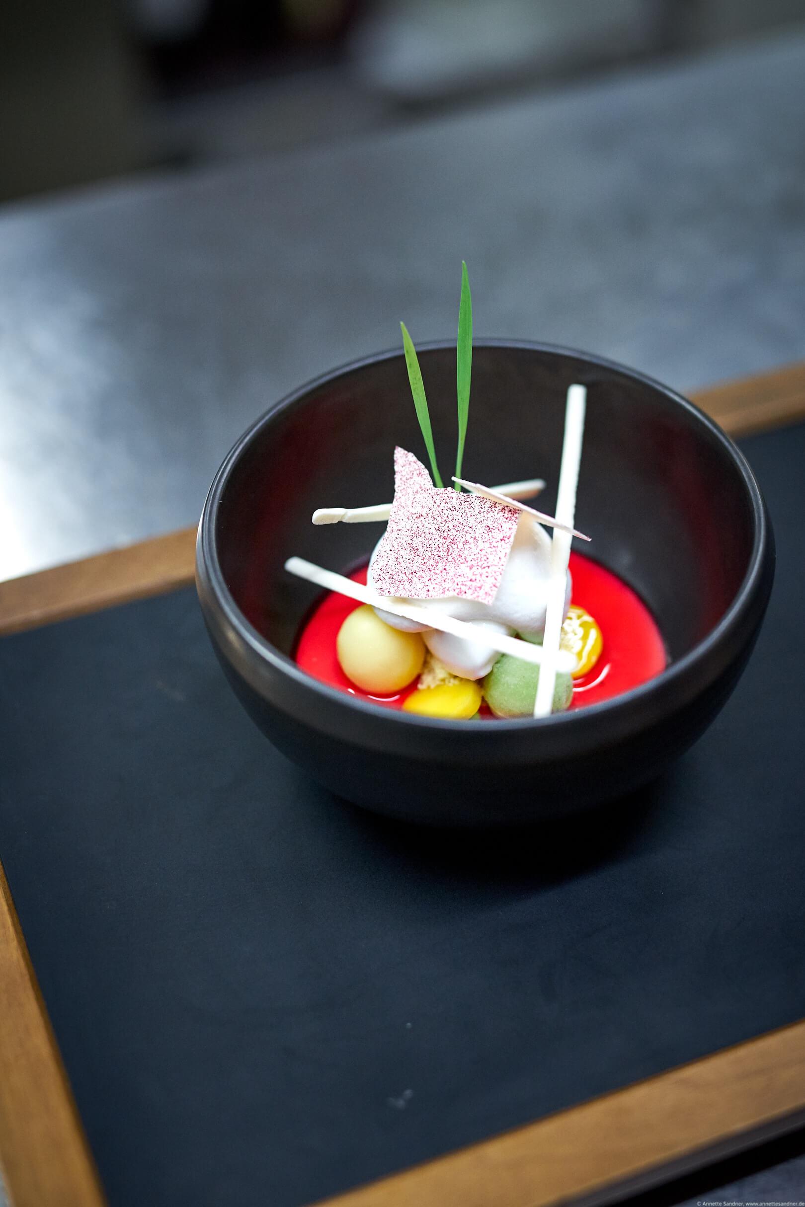 Restaurant Goldberg, Fellbach - Dessert: Shiso