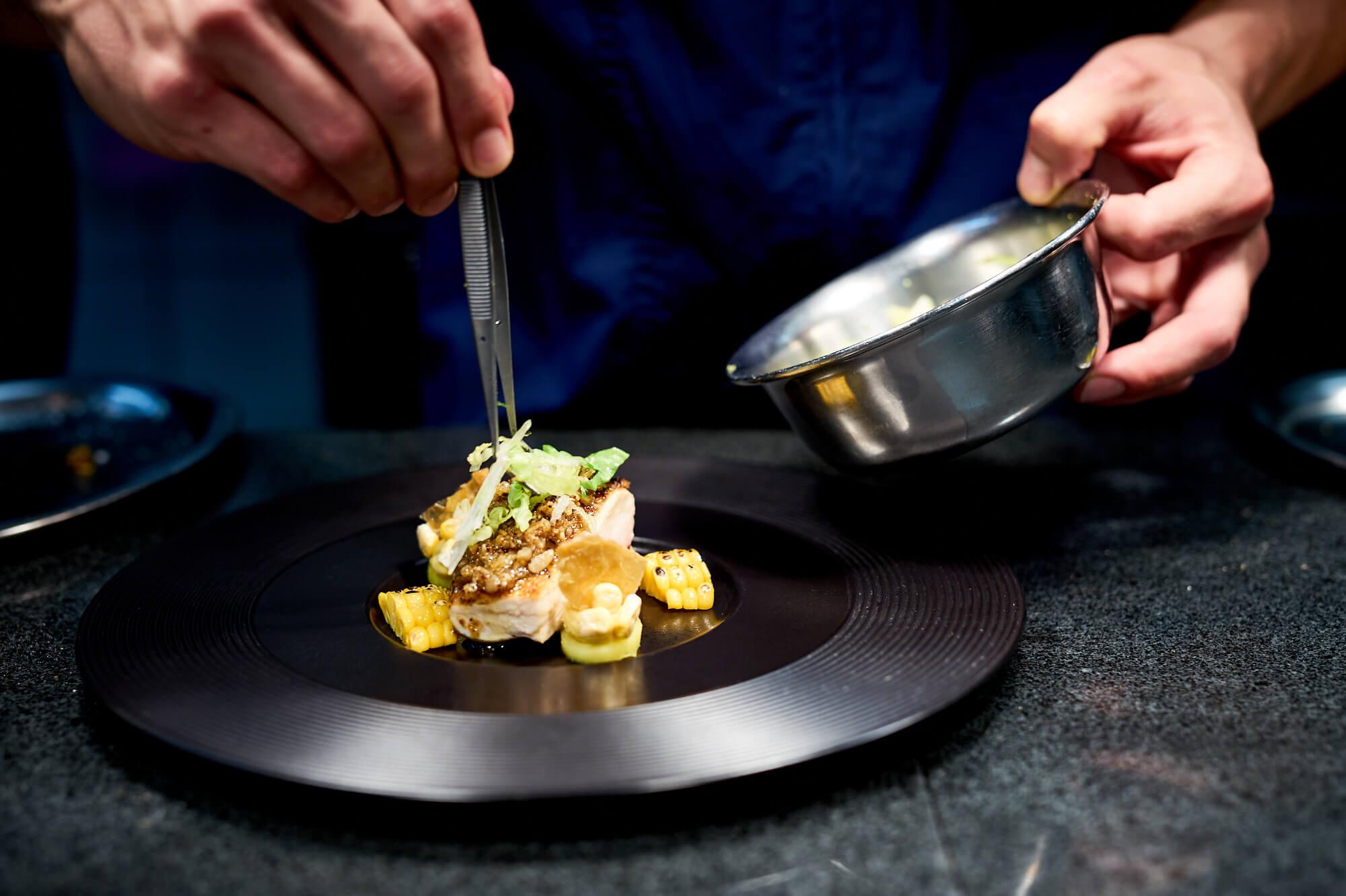 Restaurant Maerz, Benjamin Maerz, Bietigheim-Bissingen - Maishuhn