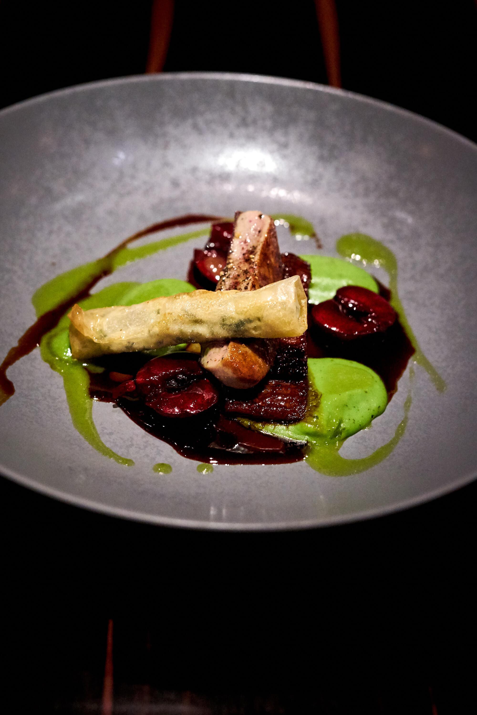 Geschmortes Papada vom Mangalitza Schwein, Restaurant Bachofer Waiblingen
