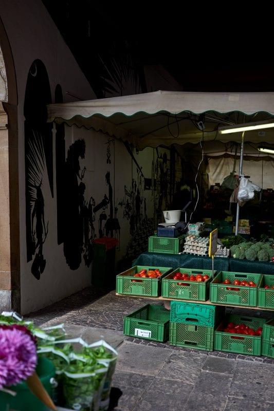 Wochenmarkt in Waiblingen