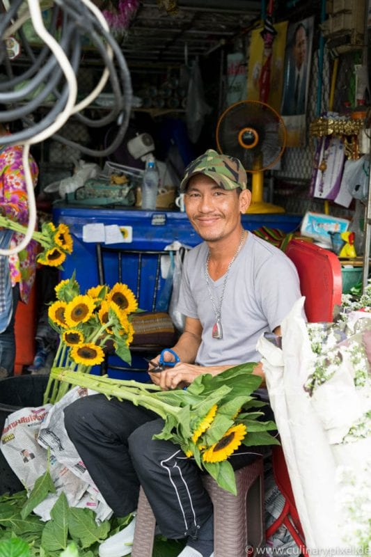 Ton Lam Yai Flower Market, Chiang Mai Thailandd