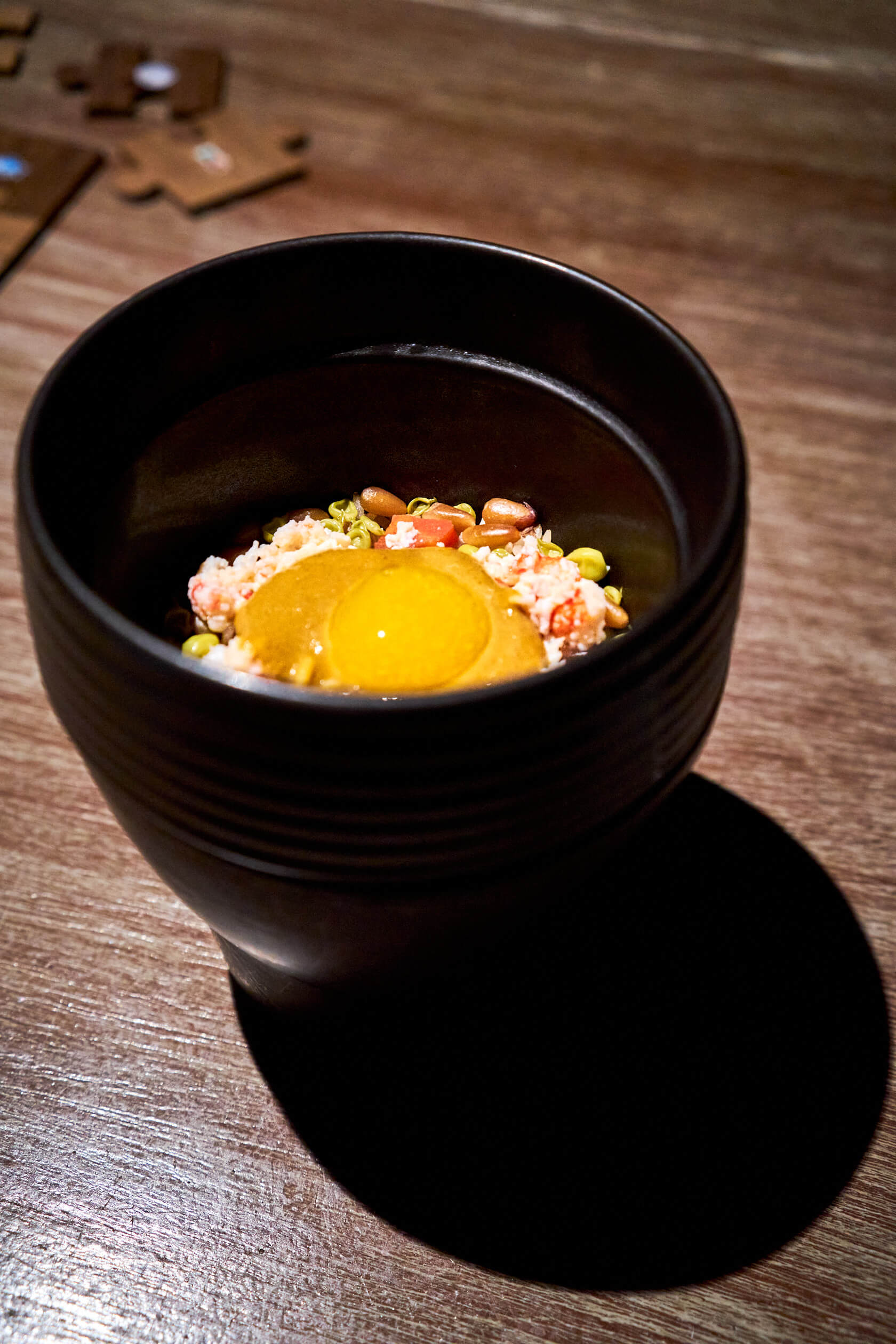 Rice not Japanese but Indian Gaggan Anand G's Spot