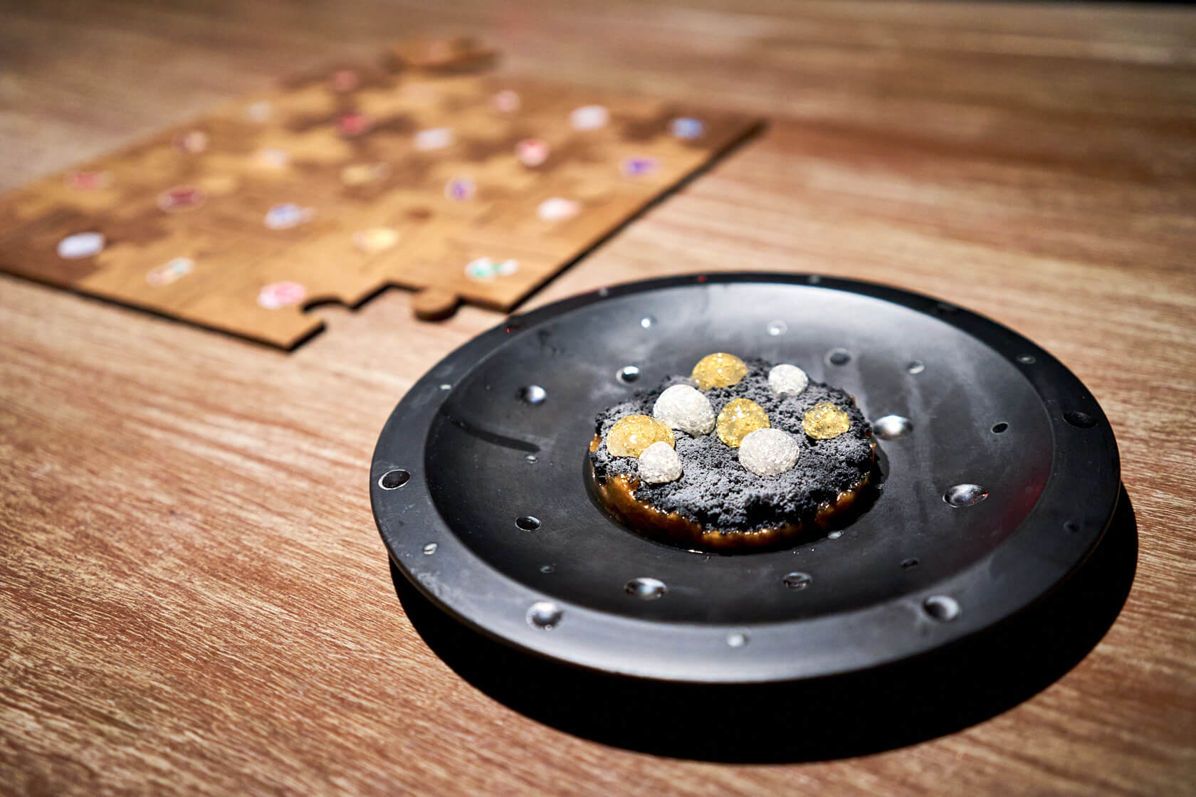 Silver & Gold Cookie Gaggan Anand G's Spot