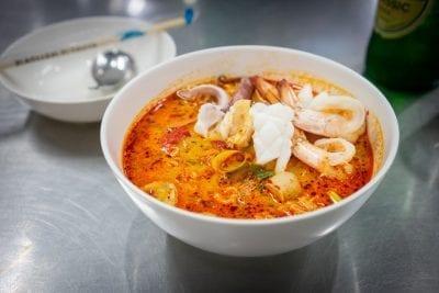 Jeh O Chula Bangkok, Tom Yum Seafood