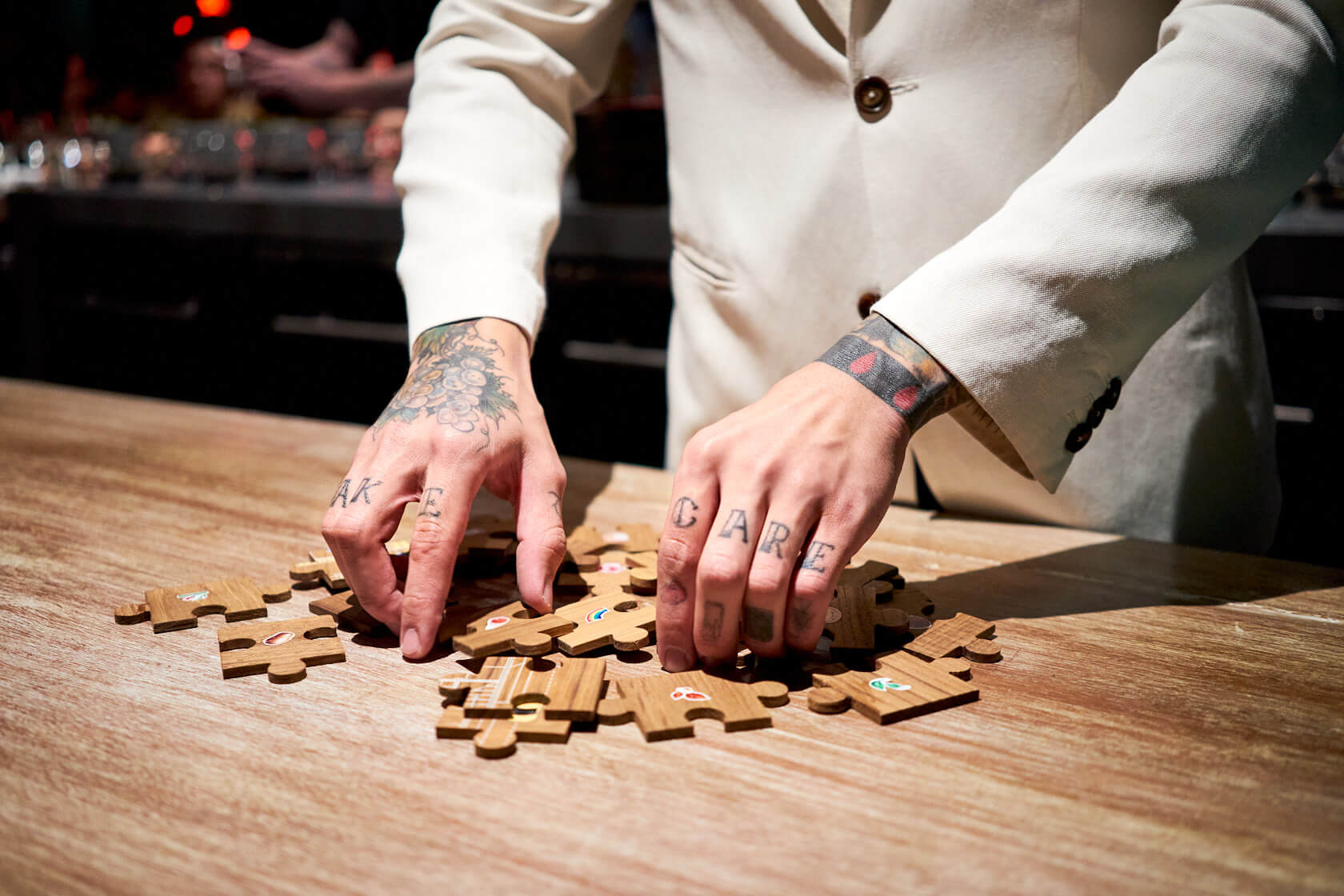Gaggan Anand G's Spot Restaurant Puzzle
