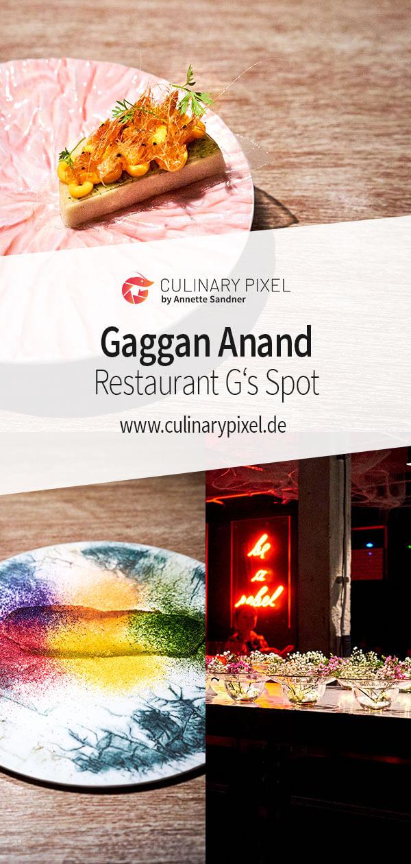 Gaggan Anand G's Spot Restaurant Chefs Table Bangkok