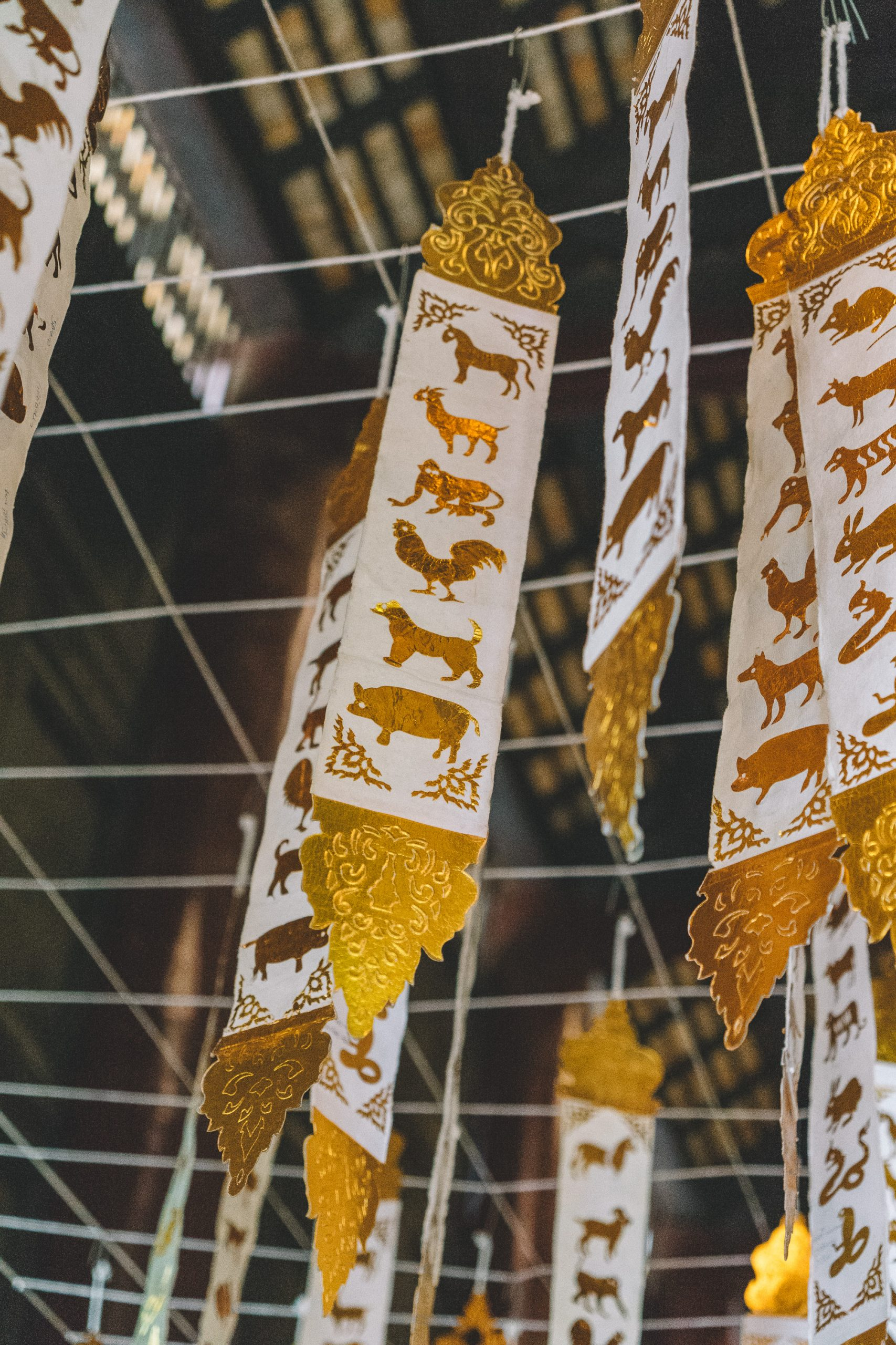 Wat Phan Tao Tempel Chiang Mai Old Town