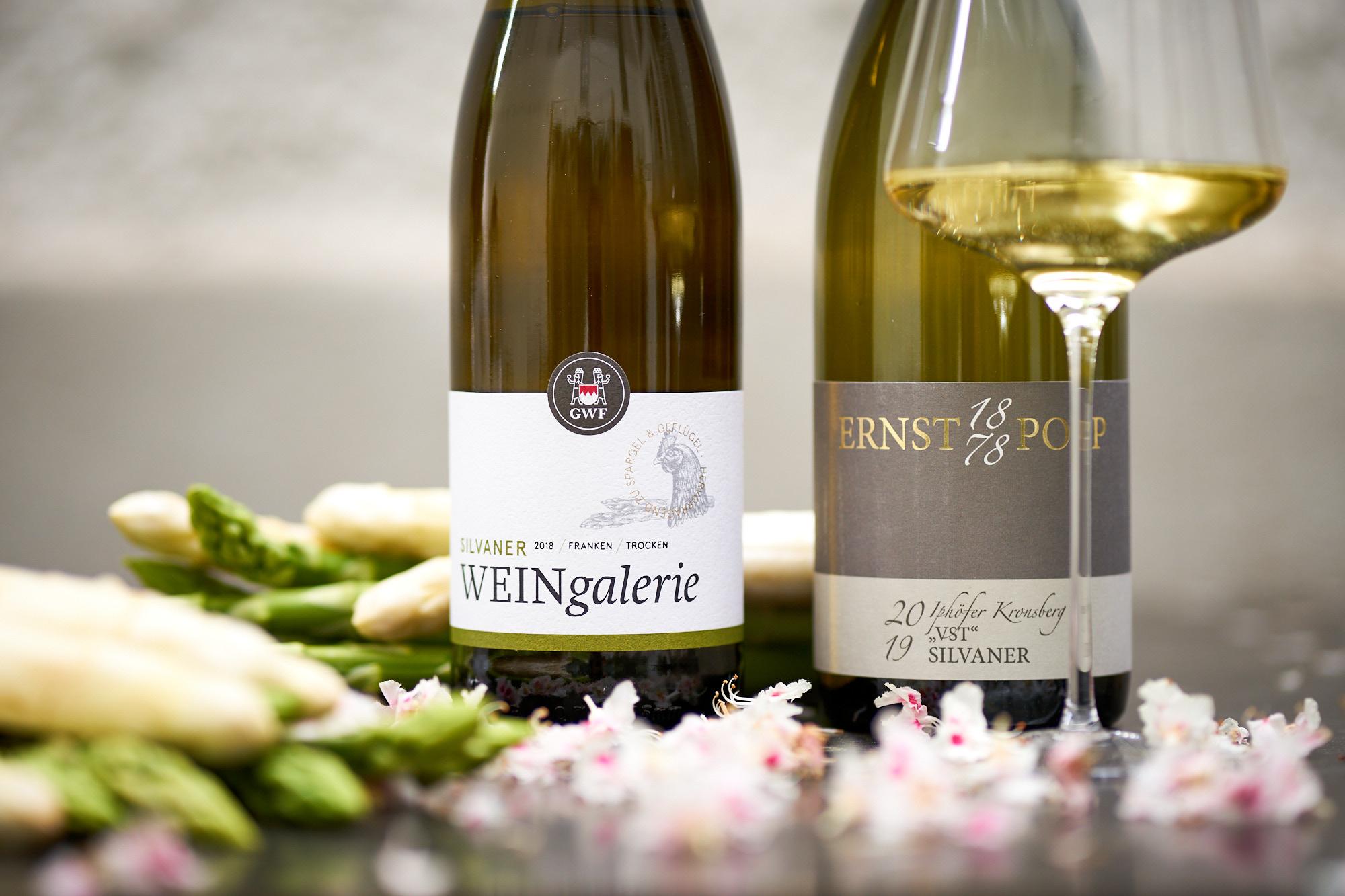 Spargel liebt Silvaner Winzergemeinschaft Franken und Weingut Ernst Popp