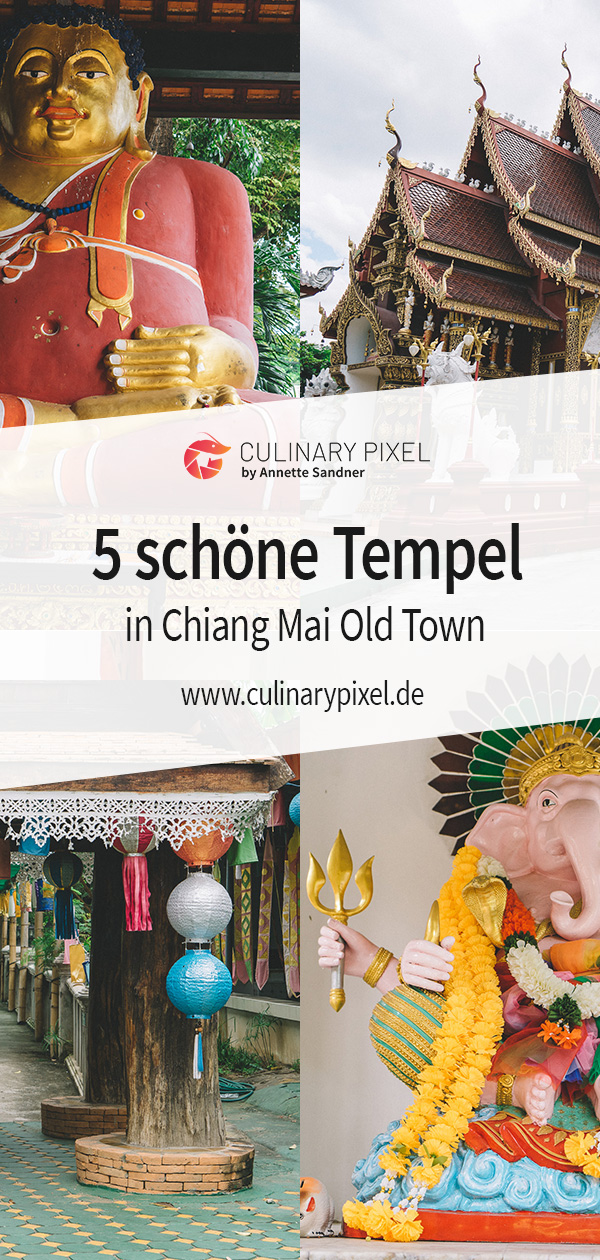 5 schöne Tempel in Chiang Mai Old Town