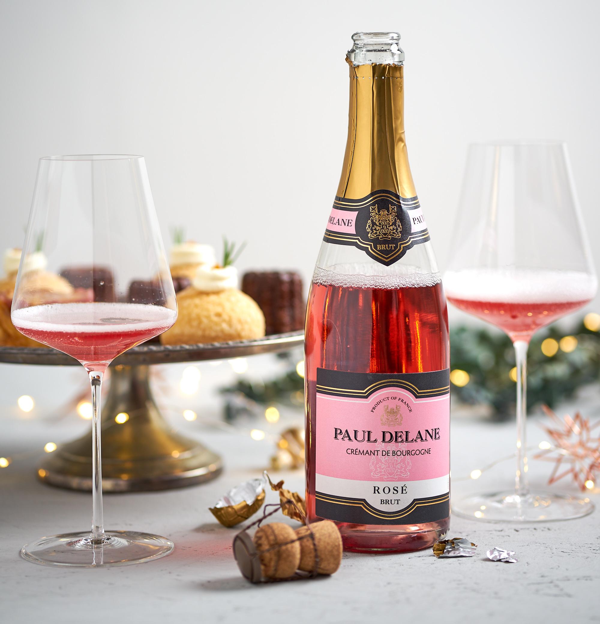 """Paul Delane """"Rosé"""" Cremant de Bourgogne brut"""