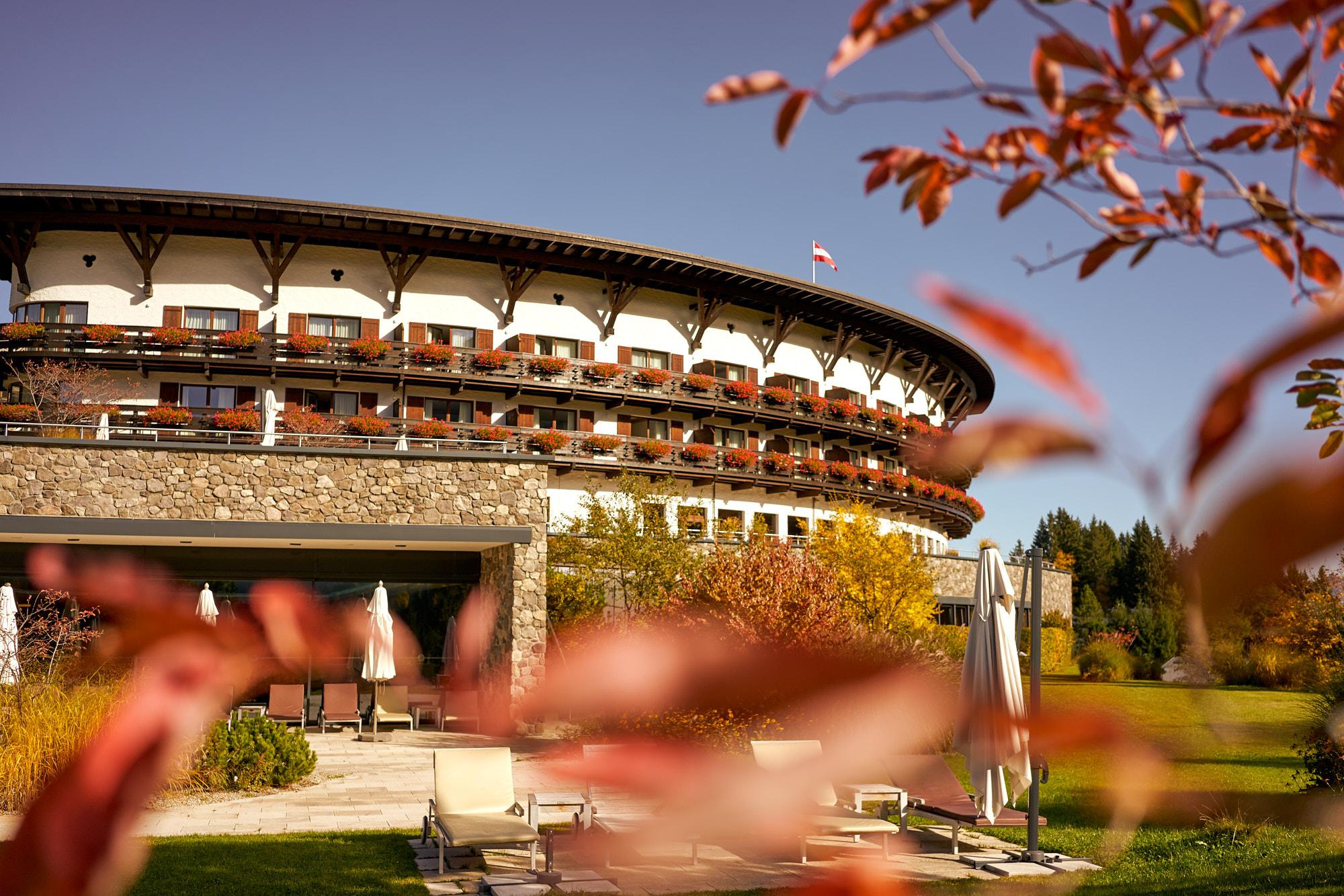 Ifen Hotel Herbst